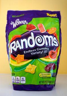 Wonka's New Randoms Gummy Candy