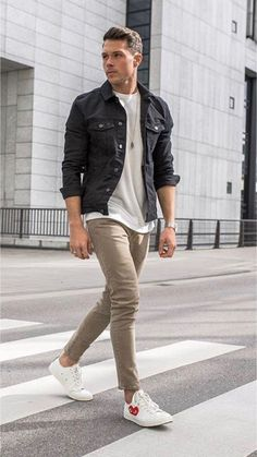 41 Ideas For Moda Masculina Casual Fashion Menswear Mens Fall Outfits, Men's Outfits, Casual Outfits, Cool Outfits For Men, School Outfits, Stylish Men, Men Casual, Casual Fall, Casual Styles