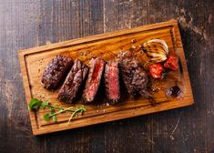 This time-tested method is the perfect way to cook a juicy steak when you don't want to fire up the barbecue South African Recipes, Ethnic Recipes, Barbecue, Cherry Compote, Hello Fresh Recipes, Steak Cuts, Brunch, Juicy Steak, How To Grill Steak