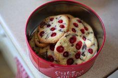 Ríbezľové cookies s kúskami čokolády