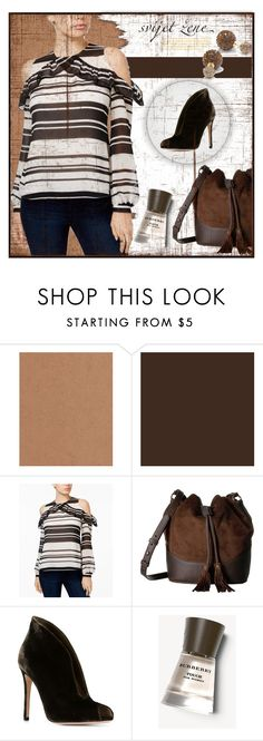 """""""MODERN CLASSIC!!!"""" by kskafida ❤ liked on Polyvore featuring GUESS, Frye, Gianvito Rossi, Burberry and modern"""