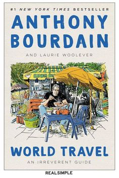 30 Great Books and Novels to Suit Any Mood or Interest | Had to cancel your dream vacation due to 2020? This posthumous collection of essays and reflections captures the late travel and food writer and TV host Anthony Bourdain's favorite places on the planet—and may just inspire your future travels. #realsimple #bookrecomendations #thingstodo #bookstoread New Books, Good Books, Books To Read, Barack Obama, His Travel, Read News, Guide Book, Memoirs, Audio Books