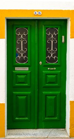 Beautiful door in Alentejo Portugal by marita toftgard Portugal, Entrance Doors, Doorway, Art And Architecture, Architecture Details, Color Of Life, Color Theory, Windows And Doors, Beautiful