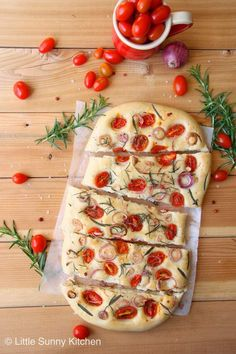 Jump to Recipe Print RecipeSummer cherry tomato Focaccia with fresh rosemary leaves and shallots… Whoever told you that baking your own bread at home isn't simple and easy, lied to you. True that picking up a loaf of fresh bread from your local bakery or supermarket is very convenient, but nothing can be more satisfying...Read More »