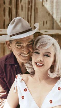 Marilynand Clark Gable