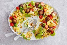 Kijk wat een lekker recept ik heb gevonden op Allerhande! Gehaktballetjes, aardappel & kool