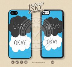 The fault in our stars, iPhone Case iPhone 5 case iPhone 5C Case iPhone 5S case iPhone 4 Case, OKAY, Phone Cases -FC 0547