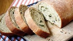 Rosemary Browned Butter Swirl Bread is an easy, tasty and healthy way to try your hand at baking homemade bread—no bread machine required!