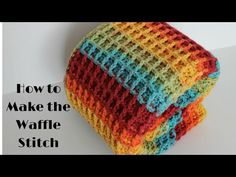 Today I'll be sharing with you my waffle stitch blanket pattern. This crochet pattern has a lot of texture to it and is a great beginner pattern.