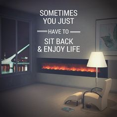 Relax - it's #Friday!  #quote #fireplace #cozy #wine #view #cold