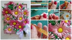 How To Make Fringed Daisy