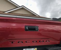 QAA Stainless Steel Rear Tailgate Letter Inserts for 2016-2017 Toyota Tacoma