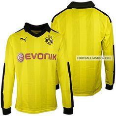 Borussia Dortmund 2012/13 PUMA Winter Jersey // wintertrikot!