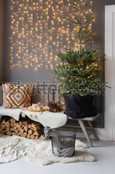 Fairy Lights, String Lights, Ladder Decor, Table Decorations, Winter, Christmas, Furniture, Home Decor, Winter Time