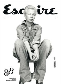 Michelle Williams by Willy Vanderperre for Esquire Russia
