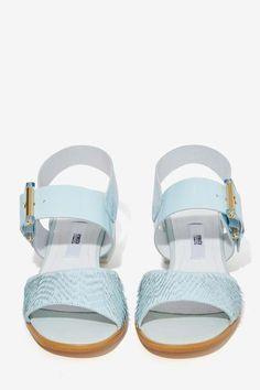 Miista Mina Leather Sandal - Platforms   Miista   All   Shoes   Accessories + Sandals