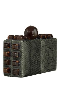 Prada Raso Ricamo Clutch, Gray   Bags   Pinterest