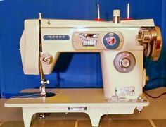 The Morse 4100 Fotomatic, made in Japan in the 1960s, restored and ready to sew for the rest of your lifetime, and then some.