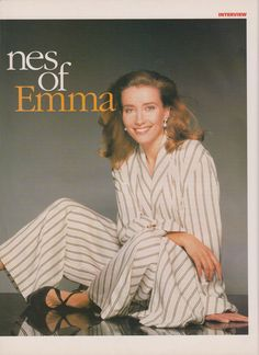 Emma Thompson Interview - Womans Journal June 1993 Photography by Terry O'Neill