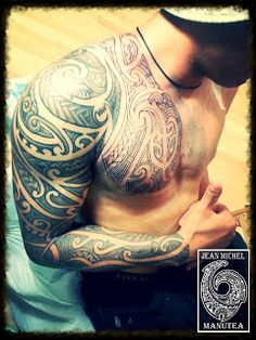 polynesian tattoo and art