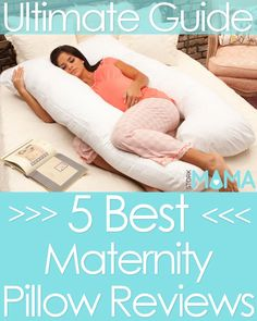 Looking for the best maternity pillow for a good nights sleep? Check out our reviews and buying guide. Find the best pregnancy pillow for you. Stork Mama