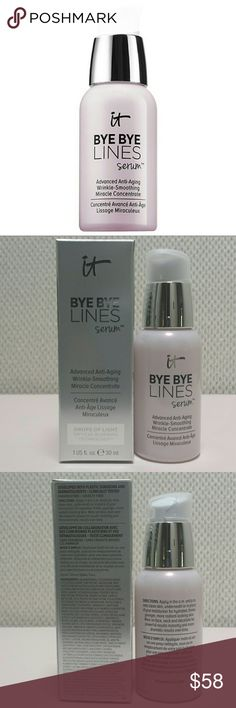 It Cosmetics Bye Bye Lines Serum This is new and never opened.   No trades.   Please submit any offers though the offer option. Sephora Makeup