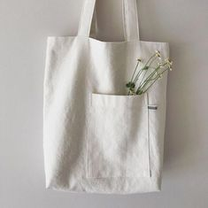 Best 12 This is plain white canvas bag for DIY. Product ranges: various blank canvas bags,pouches,cases. Sacs Design, Diy Tote Bag, Creation Couture, Linen Bag, Fabric Bags, Shopper Bag, Cotton Bag, Cotton Fabric, Cloth Bags