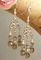 Crystal Chandelier EarringsFree Diy Jewelry Projects | Learn how to make jewelry - beads.us