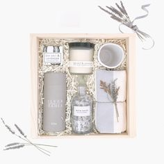 Lavender Gift Box Mother's Day Bridesmaids