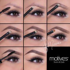 Get the look from www.uk.motivescosmetics.com/sjparkermakeup