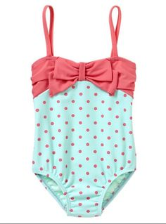This is the cutest little bathing suit for little girls