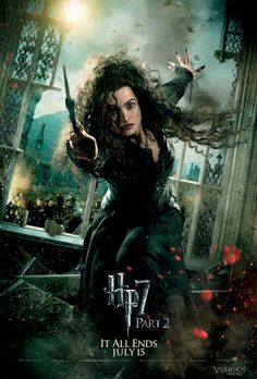 Harry Potter and the Deathly Hollows part 2 - Bellatrix Lestrange