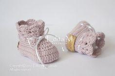 Crochet baby set unisex newborn set baby girl by EditaMHANDMADE