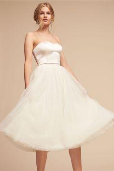 f6f0a9e0 BHLDN Darla Camisole Top & Marcie Skirt in Bride   BHLDN $230 Mini  Wedding Dresses