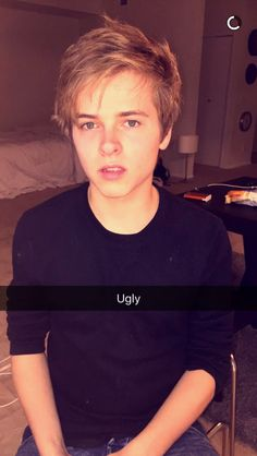 From: Luke Korns' snapchat>>>aw Lukey your not ugly xx