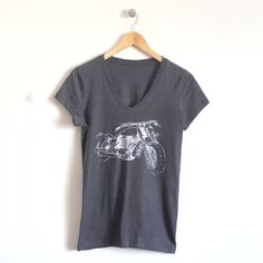 Moto Ladies T-Shirt – Show your wild side in this motorcycle graphic tee!