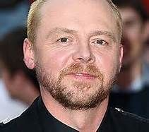 Simon Pegg has sectoral heterochromia. His eye color is gray-blue but his right iris has a noticeable brown spot.  Check out Movies With Dinosaurs for more facts and reviews of movies and actors~