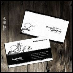 Ink business card Chinese style business card design and enjoy the #card# http://weili.ooopic.com/weili_10204130.html