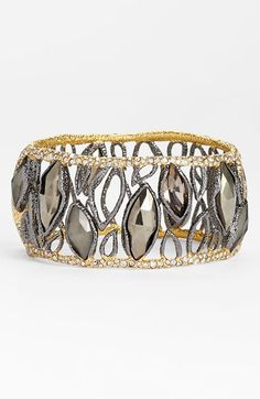 Free shipping and returns on Alexis Bittar 'Elements - Dark Phoenix' Bracelet at Nordstrom.com. Sugary texture enhances the two-tone metalwork of this glamorous bracelet studded with marquise-cut stones and glittery crystals.