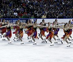 University of Miami Synchronized Skating - A collection of Synchronized  Skating Dresses to inspire your creativity when designing your new dresses with Sk8 Gr8 Designs.