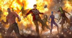 Guardians of the Galaxy 2 Concept Art Reveals Mantis & Baby Groot -- Director James Gunn shares the first official concept art from next summer's Marvel Phase 3 adventure Guardians of the Galaxy Vol. 2. -- http://movieweb.com/guardians-of-galaxy-2-concept-art-mantis-baby-groot/