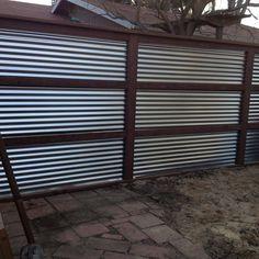 Corrugated Metal Fences