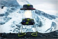 LIGHTHOUSE 250 | LANTERN + USB POWER HUB - http://www.gadgets-magazine.com/lighthouse-250-lantern-usb-power-hub/