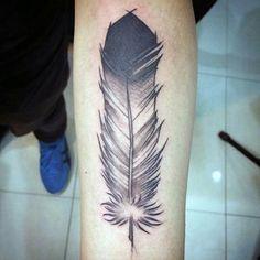 Eagle feather tat