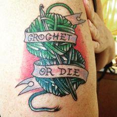 redorcker9 crochet tattoo