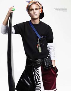 The 'Victor' Dansk Magazine Editorial is Sportswear-Chic #mensfashion #topfashiontrends