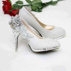 Winter wedding heels