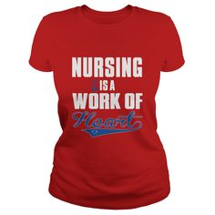 NURSE IS A WORK OF HEART tshirt nurses  nursing  hospital  doctor #gift #ideas #Popular #Everything #Videos #Shop #Animals #pets #Architecture #Art #Cars #motorcycles #Celebrities #DIY #crafts #Design #Education #Entertainment #Food #drink #Gardening #Geek #Hair #beauty #Health #fitness #History #Holidays #events #Home decor #Humor #Illustrations #posters #Kids #parenting #Men #Outdoors #Photography #Products #Quotes #Science #nature #Sports #Tattoos #Technology #Travel #Weddings #Women