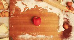 food art _ Red fruit _Apple