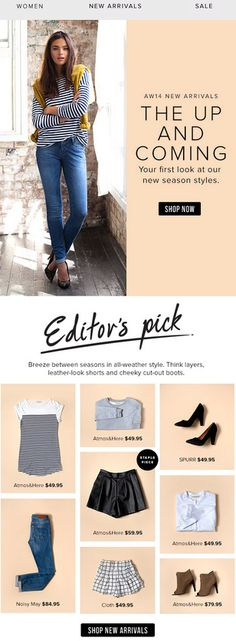 Could be buyers picks -- Buyers picks for the top 5 styles you need this summer! 1.) The jeweled sandal 2.) The Birkenstock 3.) The canvas sneaker 4.) The Sporty slide 5.) The wedge